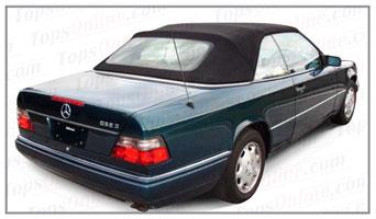 Rubber Weather Seals:1990 thru 1996 Mercedes 320CE, E320, 300CE, 220CE, E220, 200CE & E200 Cabriolet (W124) Convertible