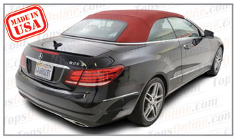 Convertible Tops & Accessories:2010 thru 2015 Mercedes E250, E350, E400, E550 & 63 AMG (Chassis 207)