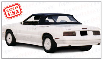 Convertible Tops & Accessories:1989 and 1990 Mercury Capri & McLaren (ASC Conversion)
