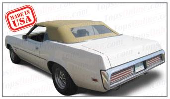 Convertible Tops & Accessories:1971 thru 1973 Mercury Cougar & XR7