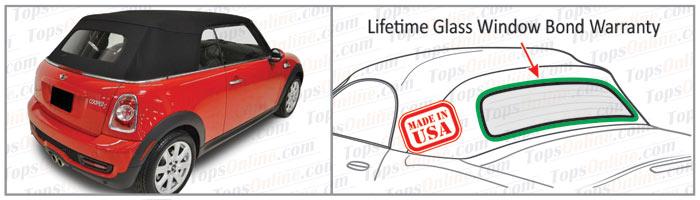 Convertible Tops & Accessories:2009 thru 2015 Mini Cooper, Cooper S, R57 Cabrio