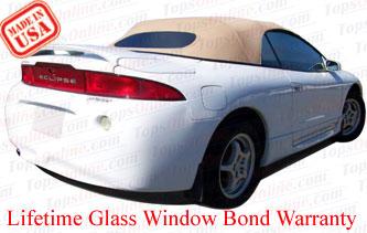 Convertible Tops & Accessories:1995 thru 1999 Mitsubishi Eclipse Spyder, GS & GST