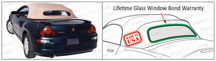 Convertible Tops & Accessories:2000 thru 2005 Mitsubishi Eclipse Spyder, GS, GT & GTS