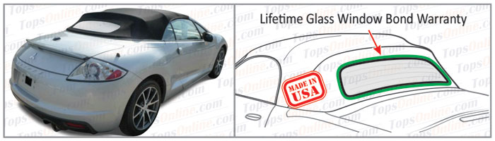 Convertible Tops & Accessories:2006 thru 2012 Mitsubishi Eclipse Spyder, GS & GT