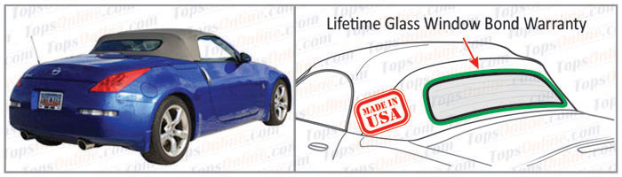 Convertible Tops & Accessories:2003 thru 2009 Nissan 350Z