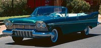 Convertible Tops & Accessories:1957 thru 1958 Plymouth Belvedere