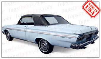 Rubber Weather Seals:1965 Plymouth Belvedere II & Belvedere Satellite (B Body) Convertible