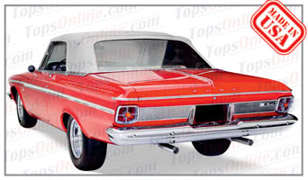 Rubber Weather Seals:1963 and 1964 Plymouth Fury & Sport Fury (B Body) Convertible