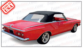 Rubber Weather Seals:1962 Plymouth Fury & Sport Fury (B Body) Convertible