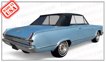 Rubber Weather Seals:1965 and 1966 Plymouth Valiant & Valiant Signet (A Body) Convertible