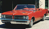 Carpet Kits:1964 and 1965 Pontiac GTO (2 Door Coupe & Convertible)