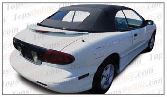Rubber Weather Seals:1995 thru 2000 Pontiac Sunfire, Sunfire SE & GT Convertible