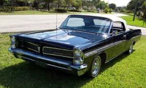 Rubber Weatherstrips:1961 thru 1964 Pontiac Bonneville & Catalina Convertible