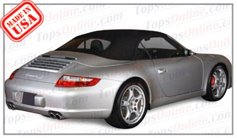 Convertible Tops & Accessories:2002 thru 2008 Porsche 996, 997, 911 Carrera 4, 4S, S, Turbo & Turbo S Cabriolet