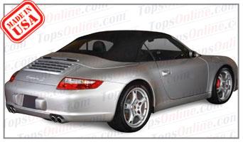 Convertible Tops & Accessories:2002 thru 2008 Porsche 996, 997, 911 Carrera 4, 4S, S, Turbo & Turbo S Cabriolet