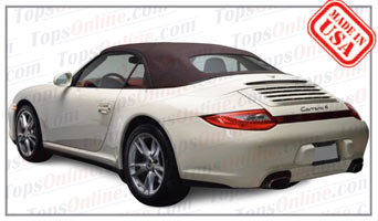 Convertible Tops & Accessories:2009 thru 2012 Porsche 997, 911 Carrera 4, 4S, S, Turbo & Turbo S Cabriolet