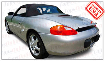 Convertible Tops & Accessories:1997 thru 2002 Porsche Boxster & Boxster S (986)