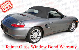 Convertible Tops & Accessories:2003 and 2004 Porsche Boxster & Boxster S (986)