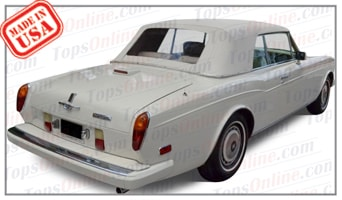 Convertible Tops & Accessories:1966 thru 1992 Rolls Royce Corniche
