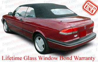Convertible Tops & Accessories:1995 and 1996 Saab 900, 900S & 900SE (ASC Conversion)