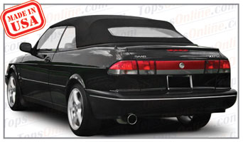 Convertible Tops & Accessories:1995 thru 1998 Saab 900, 900S & 900SE