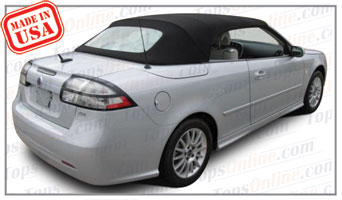 Convertible Tops & Accessories:2004 thru 2011 Saab 9-3, 9-3 Aero, 9-3 Arc & 9-3 Linear