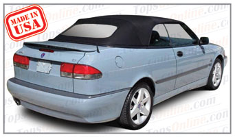 Convertible Tops & Accessories:1998 thru 2003 Saab 9-3, 9-3 SE & 9-3 Viggen