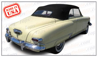 Convertible Tops & Accessories:1947 thru 1952 Studebaker Champion Regal, Commander Regal & Commander State