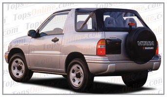Convertible Tops & Accessories:1999 thru 2004 Suzuki Vitara