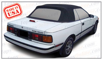 Convertible Tops & Accessories:1987 thru 1989 Toyota Celica & Celica GT (ASC Conversion)