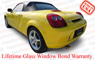Convertible Tops & Accessories:1999 thru 2007 Toyota MR-2 & MR-S Spyder