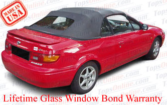 Convertible Tops & Accessories:1995 thru 1998 Toyota Paseo & Cynos (ASC Conversion)