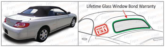 Convertible Tops & Accessories:1998 thru 2003 Toyota Camry Solara SE & SLE