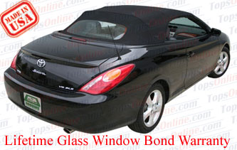 Convertible Tops & Accessories:2004 thru 2009 Toyota Camry Solara SE, SLE & Sport