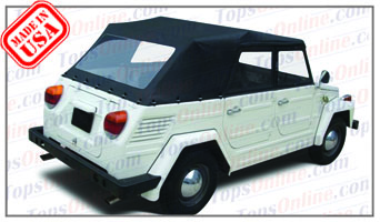 Convertible Tops & Accessories:1973 thru 1979 Volkswagen Thing, Kubelwagen, Mehrweckwagen, Safari & Trekker (Type 181&182)
