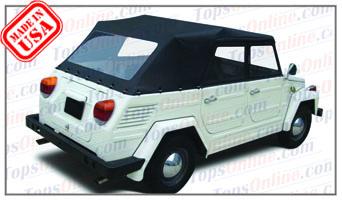 Convertible Tops & Accessories:1973 thru 1979 Volkswagen Thing, Kubelwagen, Mehrweckwagen, Safari & Trekker (Type 181&182)