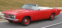 Convertible Tops & Accessories:1967 thru 1969 Plymouth Barracuda (A Body)