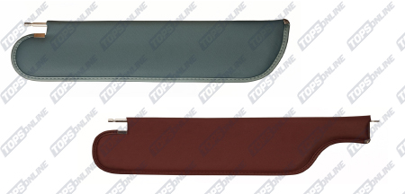 OEM Style Sun Visors:1971-1972 Chevy Chevelle Coupe, Sedan and Wagon Only