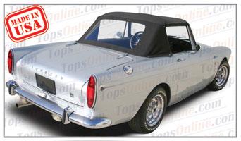 Convertible Tops & Accessories:1966 thru 1968 Sunbeam Alpine Series V, Alpine 1725, Tiger & Tiger II Sport Roadster