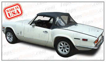 Convertible Tops & Accessories:1970 and 1971 Triumph Spitfire Mark III Roadster