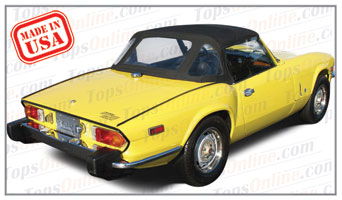 Convertible Tops & Accessories:1971 thru 1980 Triumph Spitfire Mark IV & 1500 Roadster