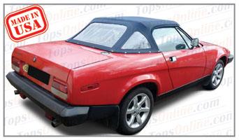 Convertible Tops & Accessories:1979 thru 1982 Triumph TR7 & TR8 Roadster