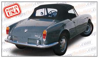 Convertible Tops & Accessories:1964 thru 1966 Alfa Romeo Giulia Spider & Giulia Veloce