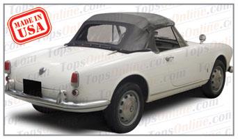 Convertible Tops & Accessories:1959 Alfa Romeo Giulietta Veloce (101 Series Long Wheelbase)