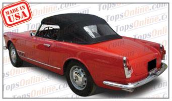 Convertible Tops & Accessories:1957 thru 1959 Alfa Romeo Spider 2000 (2 Passenger, 2-Liter)