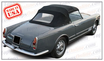 Convertible Tops & Accessories:1957 thru 1962 Alfa Romeo 2000 Spider Touring (4 Passenger)