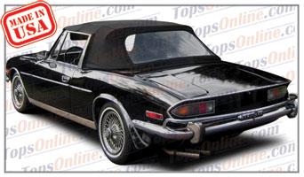 Convertible Tops & Accessories:1970 thru 1977 Triumph Stag MK I & MK II Roadster