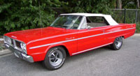 Rubber Weather Seals:1966 Dodge Coronet 440 & Coronet 500 (B Body) Convertible