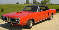 Convertible Tops & Accessories:1967 thru 1970 Dodge Coronet 440, 500 & R&T (B Body)