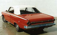 Rubber Weather Seals:1963 and 1964 Dodge Dart 270 & Dart GT (A Body)